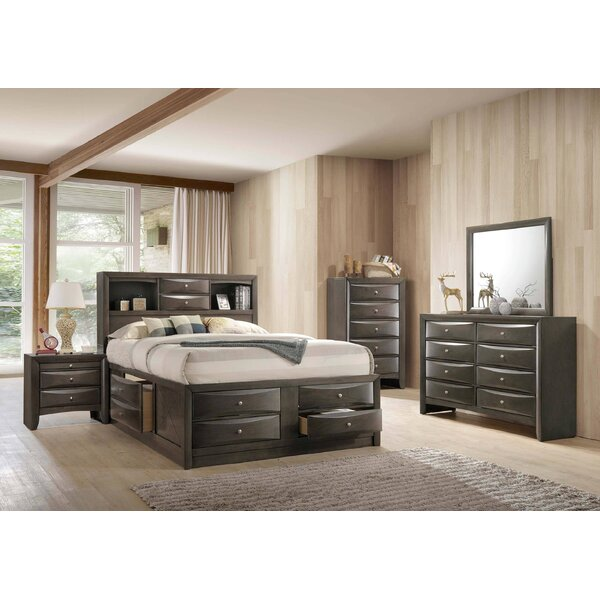 Quinten Storage Platform 5 Piece Bedroom Set by Red Barrel Studio