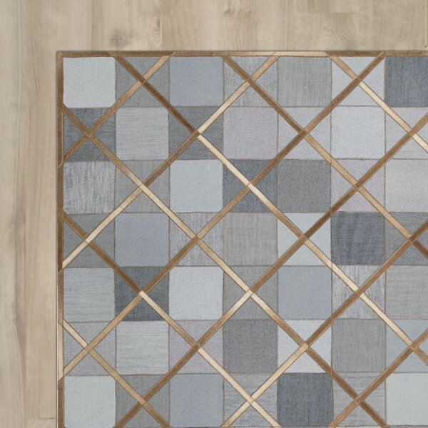 May Handmade Denim Area Rug by House of Hampton