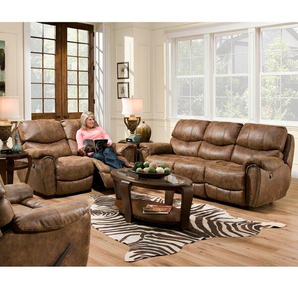 Carolina Reclining Configurable Living Room Set by Red Barrel Studio
