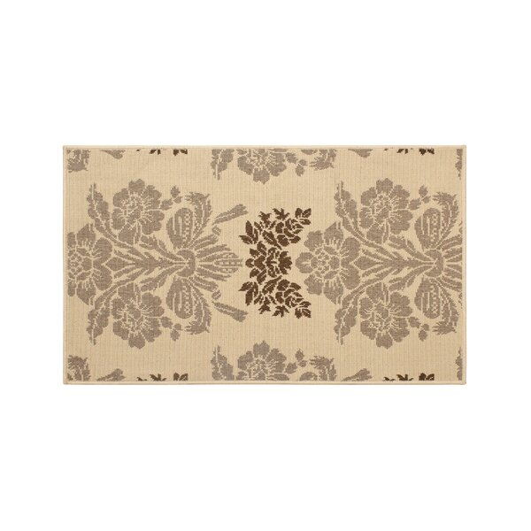 Jaya Tatton Taupe/Beige Indoor/Outdoor Area Rug by Laura Ashley Home