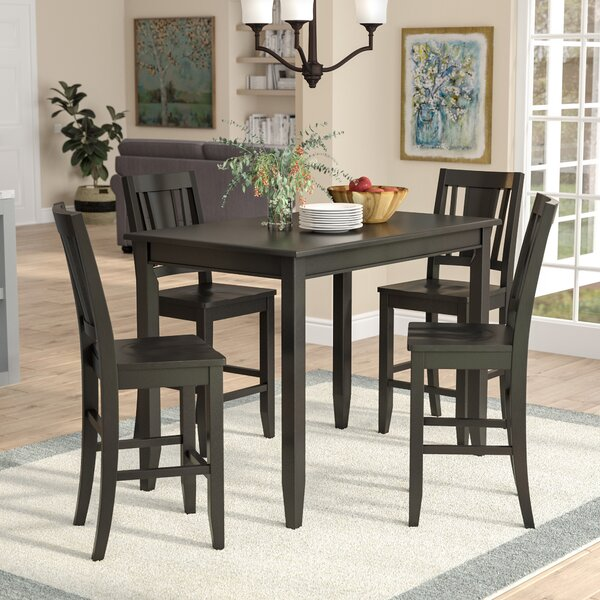 Lightner 5 Piece Dining Set by Red Barrel Studio