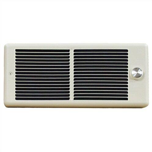 Register 2,000 Watt Wall Insert Electric Fan Heater with Wall Box by TPI