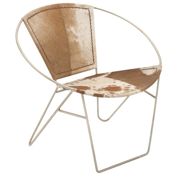 Hide Barrel Chair by Cole & Grey