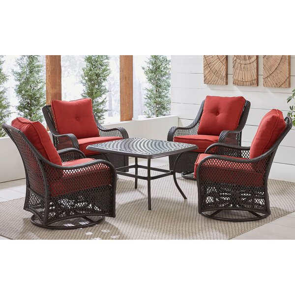 Insley 5 Piece Dining Set by Alcott Hill
