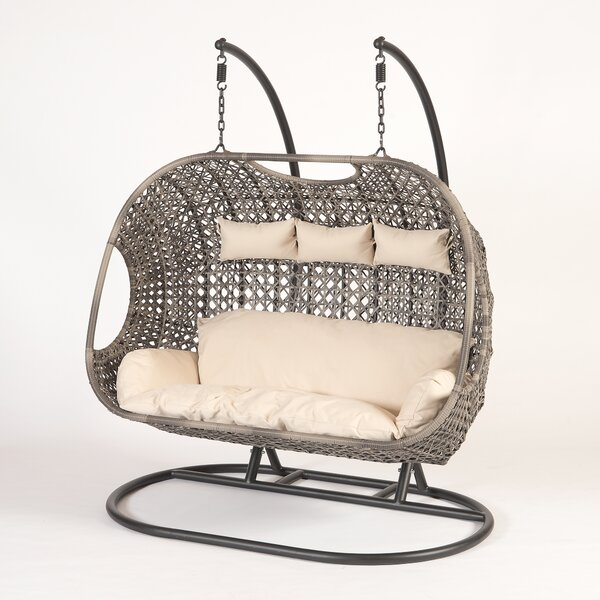 Gurganus Swing Chair with Stand by Bungalow Rose Bungalow Rose