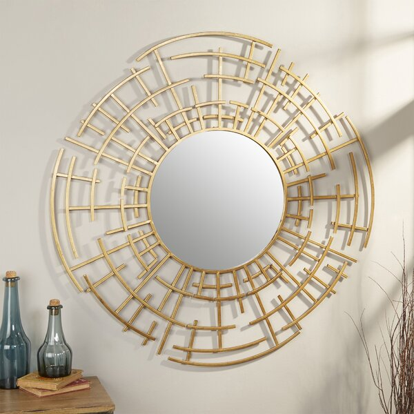 Dimensional Wall Mirror by Langley Street