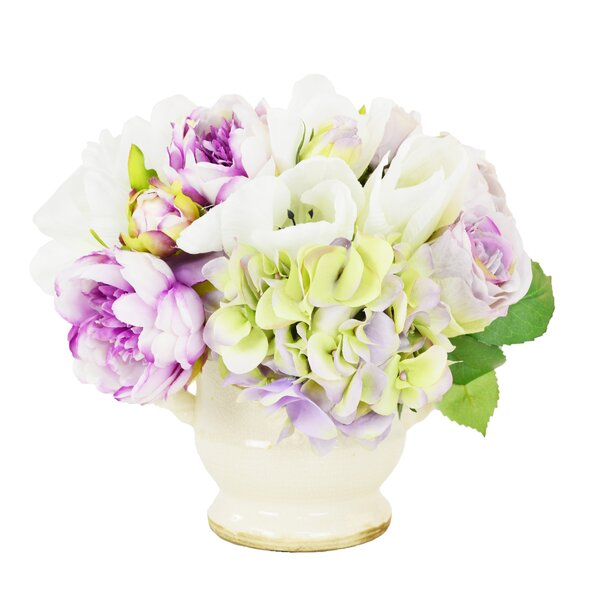 Mixed Centerpiece in Urn by Ophelia & Co.