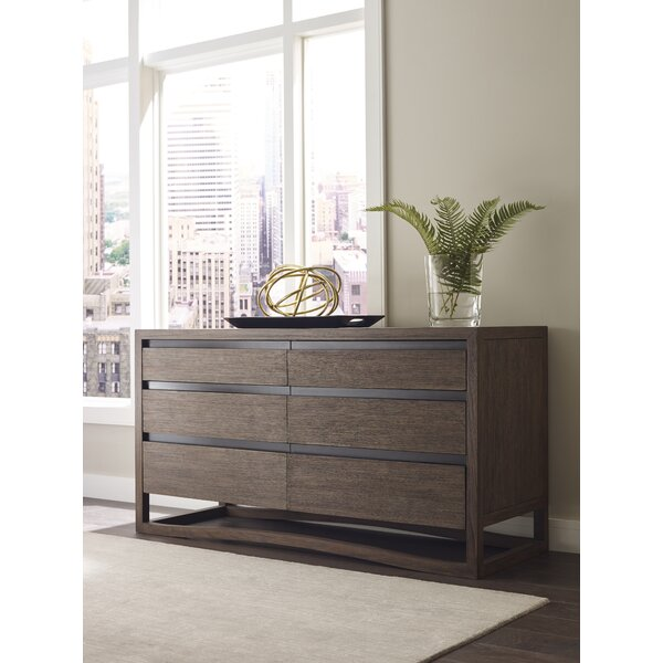Dalton 6 Drawer Double Dresser by Brownstone Furniture