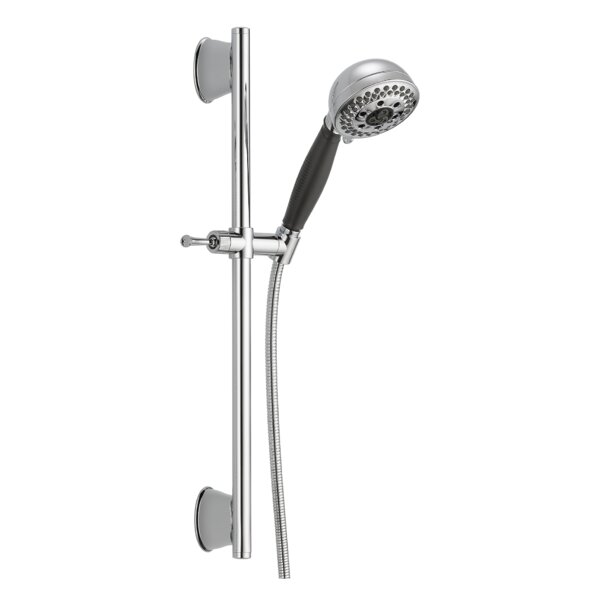 Universal Showering Components Slide Bar Hand Shower Faucet with H2okinetic Technology by Delta