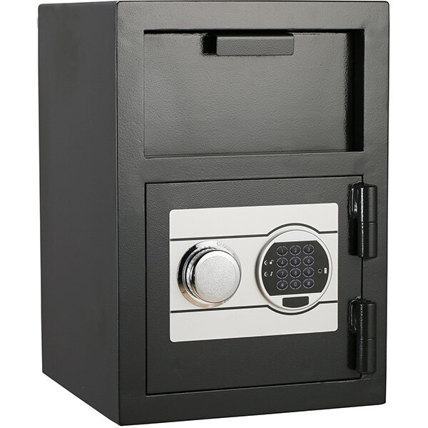 Dual-Lock Depository Safe by QNN Safe