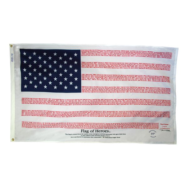 Heroes of 9/11 Flag by Annin Flagmakers