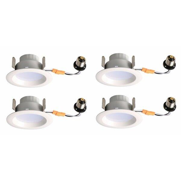 4 Reflector Recessed Trim (Set of 4) by Elegant Lighting