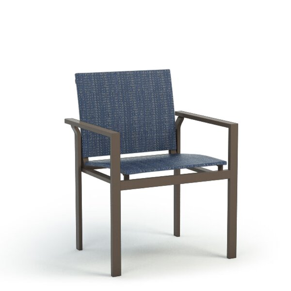 Hosler Cafe Stacking Patio Dining Chair by Ebern Designs