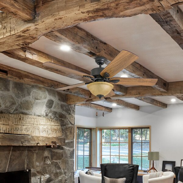 52 Uecker 5 Blade Ceiling Fan by Millwood Pines