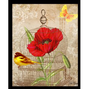 'Postcard II' Framed Graphic Art Print by Buy Art For Less