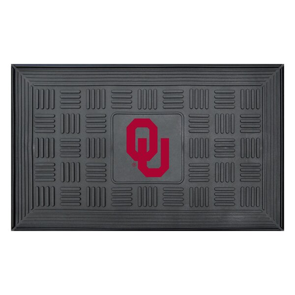 NCAA University of Oklahoma Medallion Door Mat by FANMATS