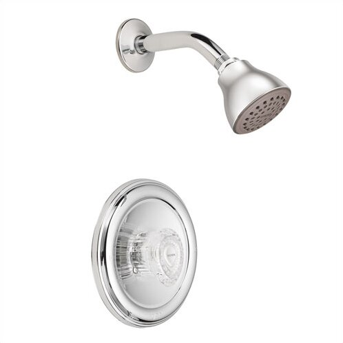 Chateau Shower Faucet with Knob Handle and Posi-Temp by Moen