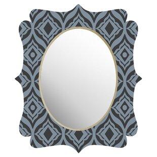 Deny Designs Heather Dutton Trevino Dusk Quatrefoil Accent Mirror