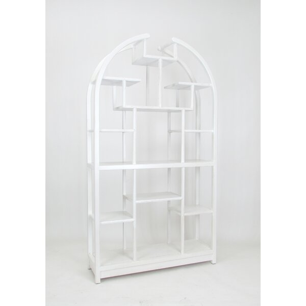 Russel Geometric Bookcase by Darby Home Co Darby Home Co