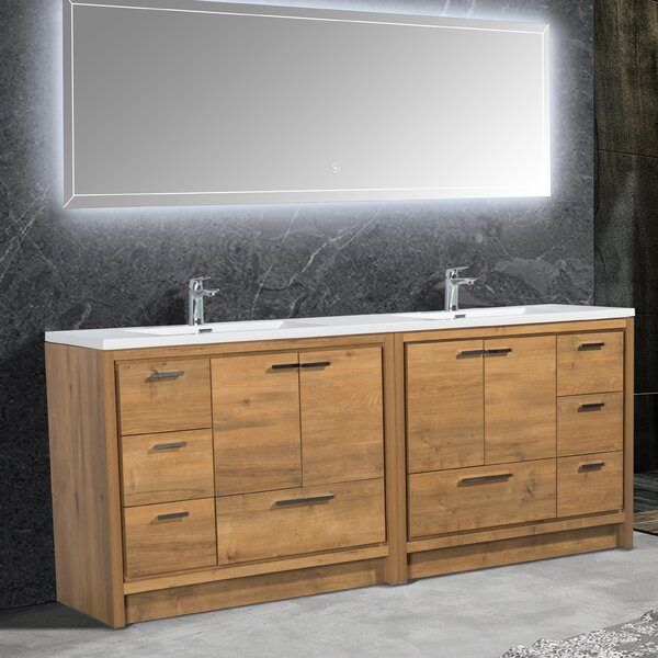 Spiller Allier 83 Double Bathroom Vanity Set