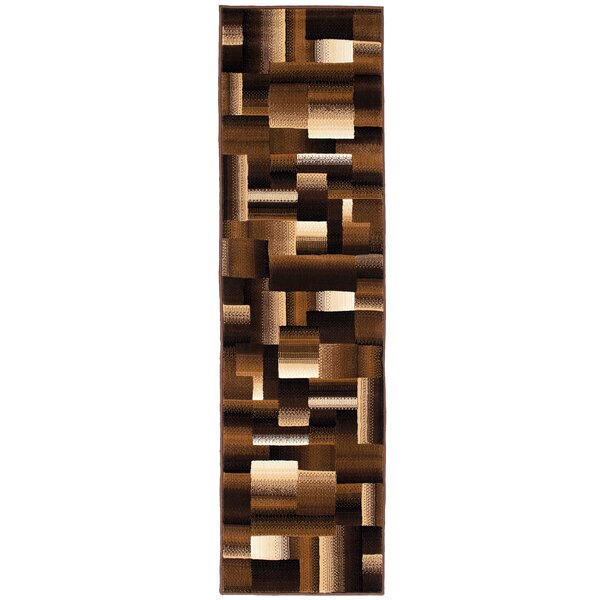 Rowe Chocolate Area Rug by Ebern Designs