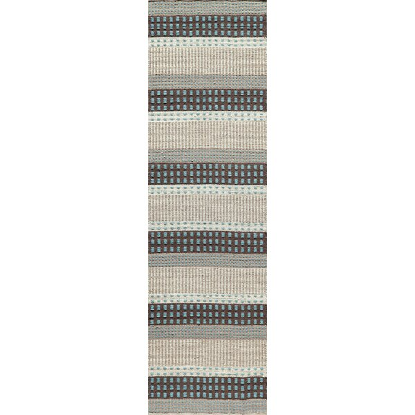 Epping Hand-Woven Blue Area Rug by Laurel Foundry Modern Farmhouse
