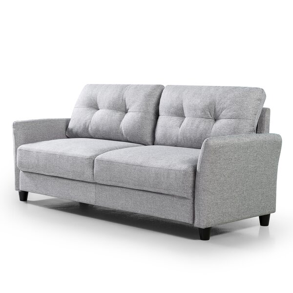 Review Glynnis 78.86'' Flared Arm Sofa