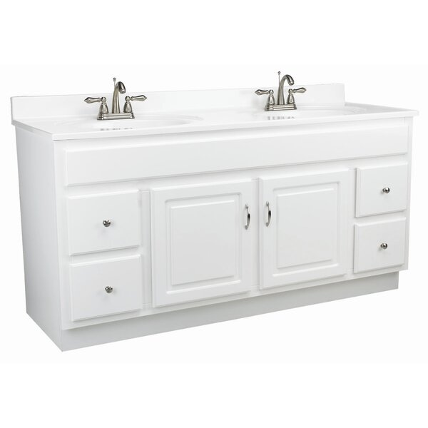 Steubenville 60 x 21 Double Door Vanity with Single Bowl Top by Andover Mills