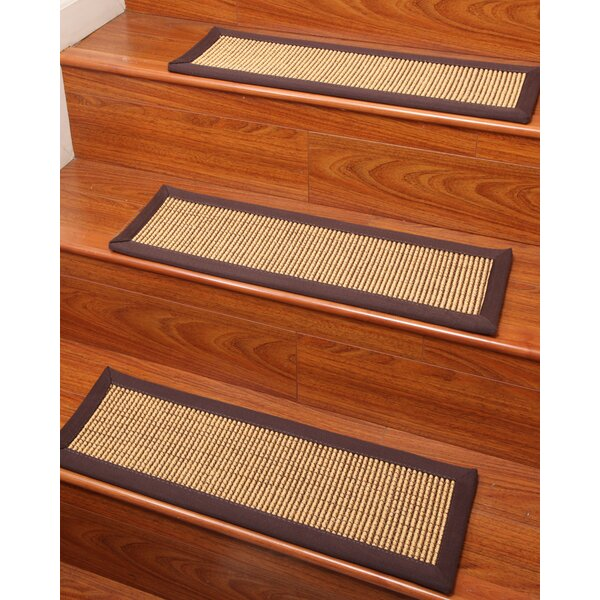 Sisal Casual Elegance Stair Treads (Set of 8) by Natural Area Rugs