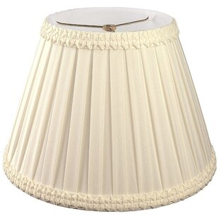 Inexpensive 14 Silk/Shantung Empire Lamp Shade By Alcott Hill