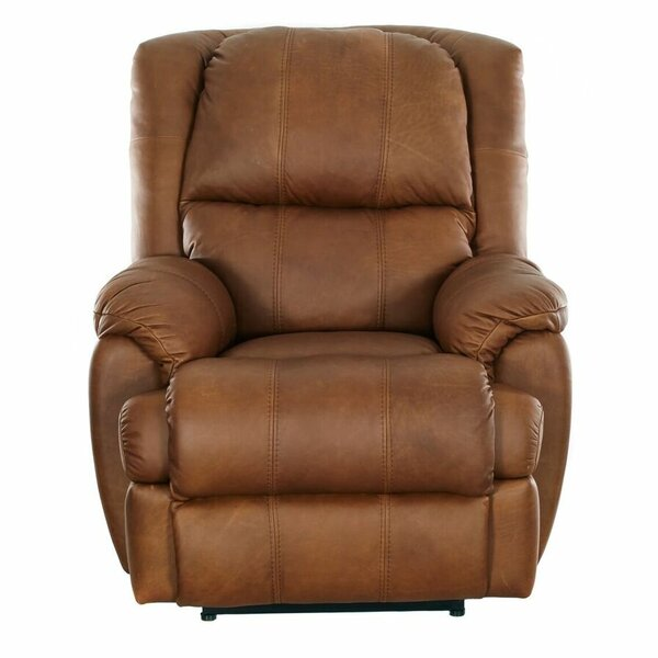 Jaxsone Leather Manual Recliner By Red Barrel Studio