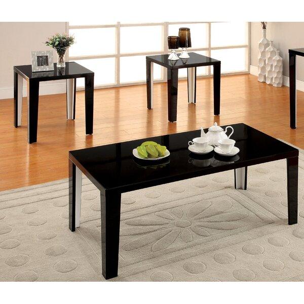 Latanya 3 Piece Coffee Table Set by Hokku Designs Hokku Designs