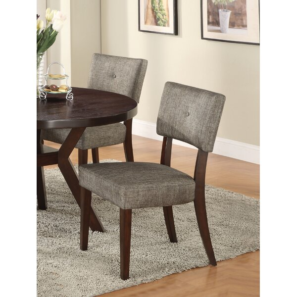 Damon Upholstered Dining Chair (Set of 2) by Brayden Studio