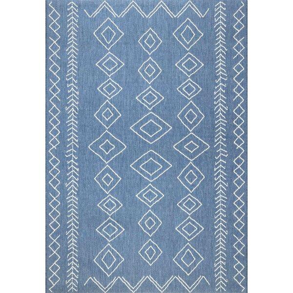 Allaryce Blue Indoor/Outdoor Area Rug by Trent Austin Design