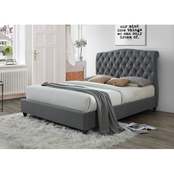 Keifer Upholstered Sleigh Bed by Darby Home Co