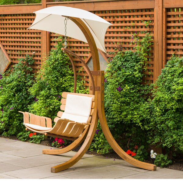 Swing Chair with Stand by Leisure Season