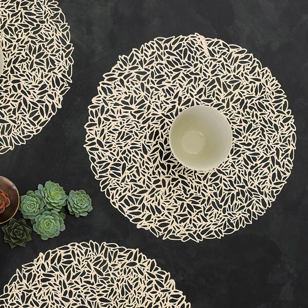 Pressed Petal Placemat by Chilewich