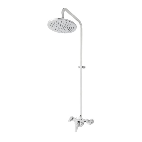 Anti-Scald Pressure Balanced Exposed Wall Mount Outdoor Shower by Speakman