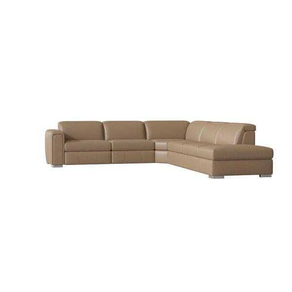 Lorenzo 4 Piece Reclining Sectional Set By Palliser Furniture