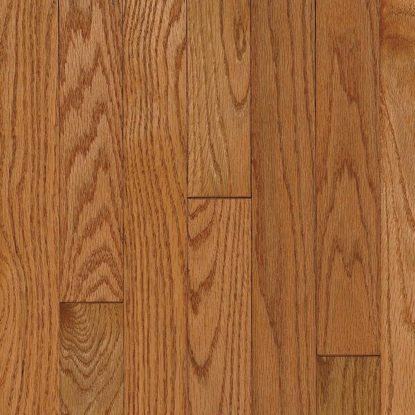 Ascot Strip 2-1/4 Solid Oak Hardwood Flooring in Topaz by Armstrong Flooring