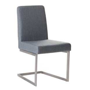 Teshia Arctic Upholstered Dining Chair (Set of 2)