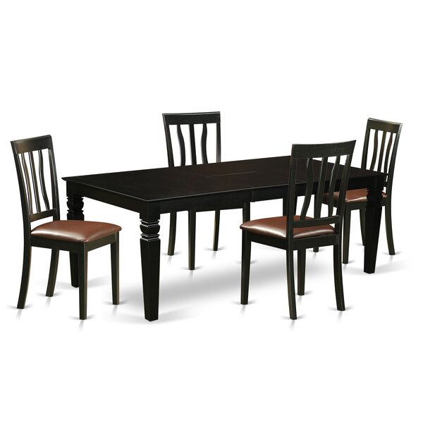 Annawan 5 Piece Dining Set by Darby Home Co