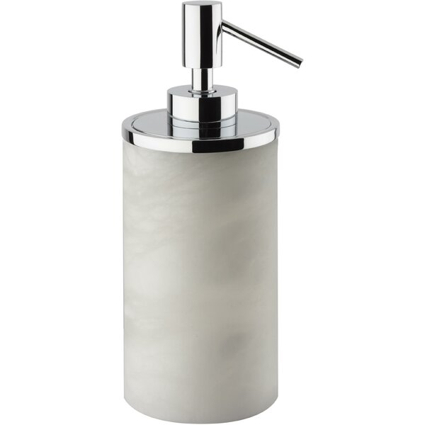 Crandell Alabaster Pump Soap & Lotion Dispenser by Ebern Designs