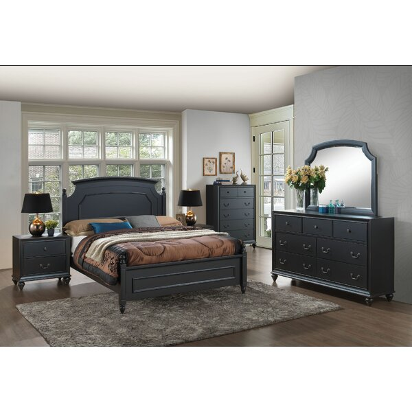 Jimmy Panel Configurable Bedroom Set by Charlton Home