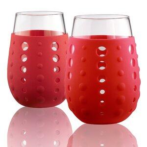 Hydra Sip Stemless 15 oz.Glass (Set of 2)