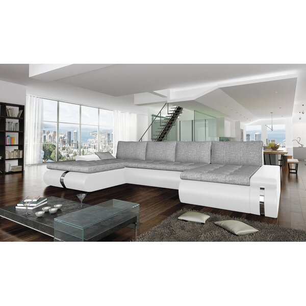 Cordle Reversible Sleeper Sectional by Orren Ellis