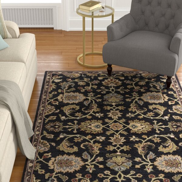 Black Area Rug by Birch Lane™