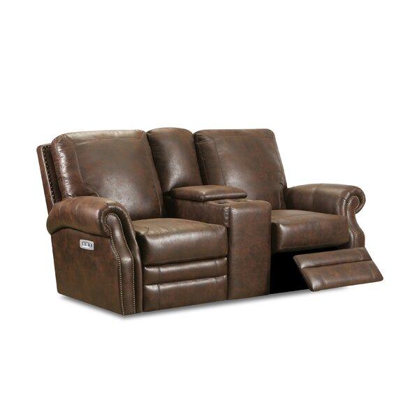 , Walnut Badlands Walnut Reclining Loveseat by Lane Furniture