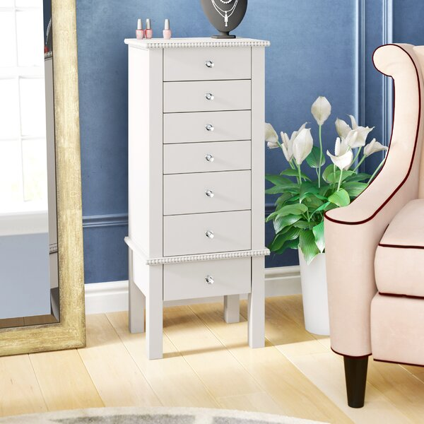 Brooklyn Jewelry Armoire by House of Hampton