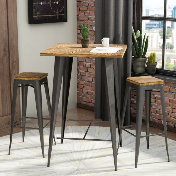 Dining Room Sets Austin Tx: Trent Austin Design Claremont 3 Piece Pub Table Set